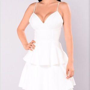 Top tier maxi dress